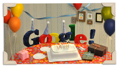 11.09.27 Googles_13th_Birthday-2011-hp